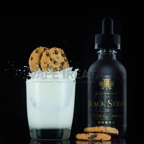 Murah Liquit Premium 60ml Black Series Milk Cookies Ejuice By Kilo Black Series 60ml Vapetreat