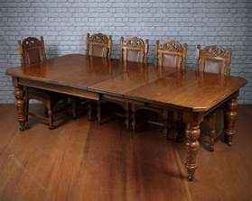 Dining Table Seat 10 10 Seat Pine Oak Extending Dining Table C 1895 Antiques Atlas