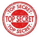 top secret rubber st top secret st stock vector 169 roxanabalint 27128477