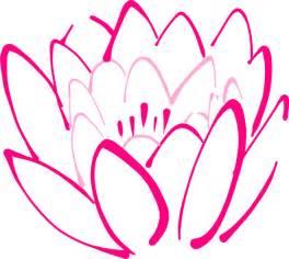 Clipart Lotus Flower 12 Petal Pink Lotus Clip At Clker Vector Clip