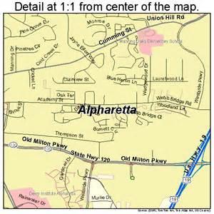 alpharetta map 1301696