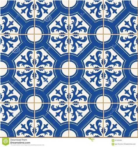 blue islamic pattern seamless pattern turkish moroccan portuguese tiles