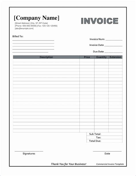 Blank Invoice Template Blank Invoice Template Google Docs Of Free 91536703449 Blank Invoice Free Docs Invoice Template