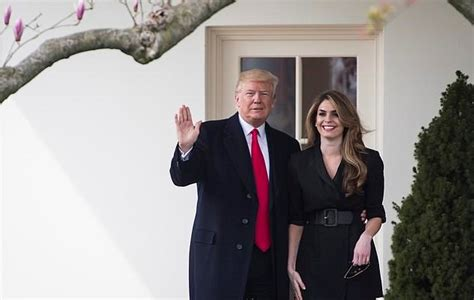 hope hicks going to fox former trump staffer hope hicks heads to wait for it