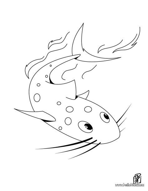 catfish coloring pages hellokids com