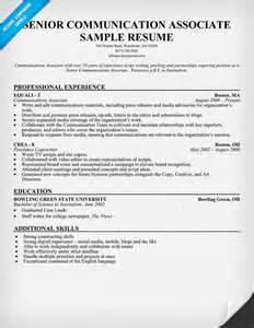 communication skills resume example resume format