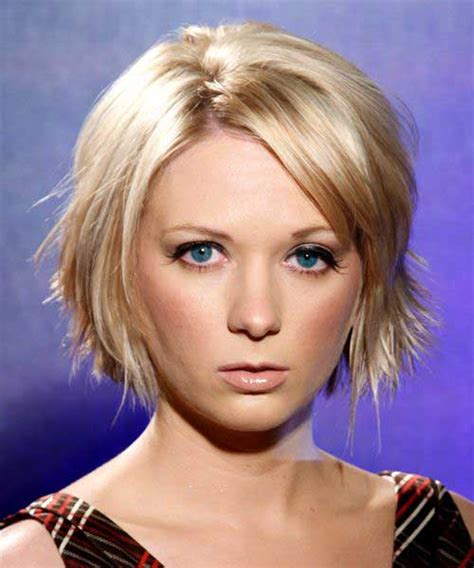 short choppy layered with bang for fine hair long face 15 short haircuts with layers short hairstyles 2016