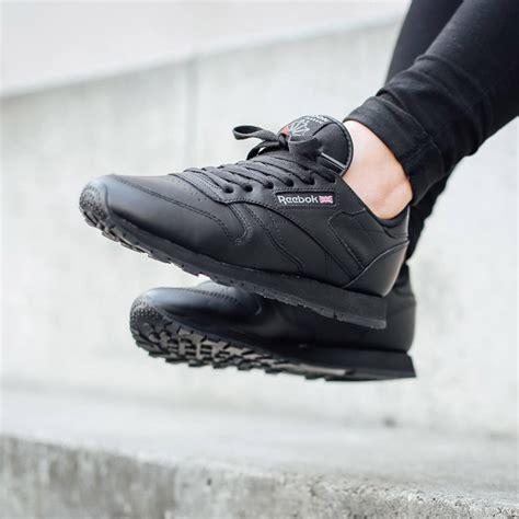 Reebok Classic Black reebok classic leather black soletopia