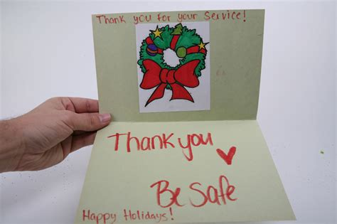 christmas cards to soldiers