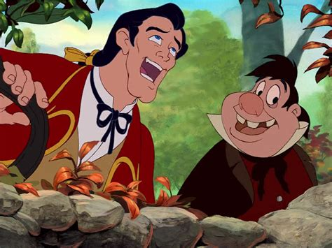 libro le bandard fou lefou and gaston are weirdly the best part of disney s beauty and the beast helen smith s blog
