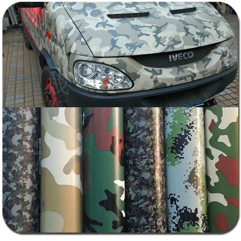 Stiker Camo Camouflage 258 car wrap camo promotion shop for promotional car wrap camo