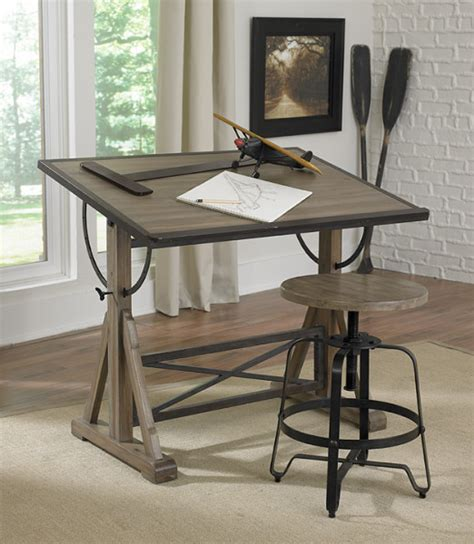 Drafting Table And Desk Magnussen Furniture New Generation Bailey Desk Drawing Board Antique Traditional