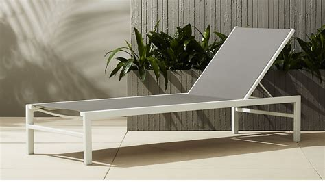 cb2 chaise lounge idle grey outdoor chaise lounge cb2