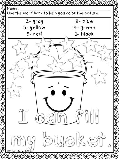 25 best ideas about bucket filling activities on