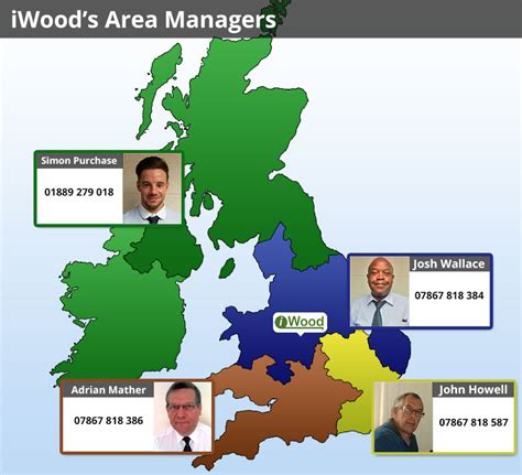 iwood s area managers