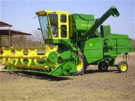 used farm tractors for sale: john deere model 95 combine