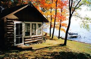 hayward wi lake cabins are right on the lake