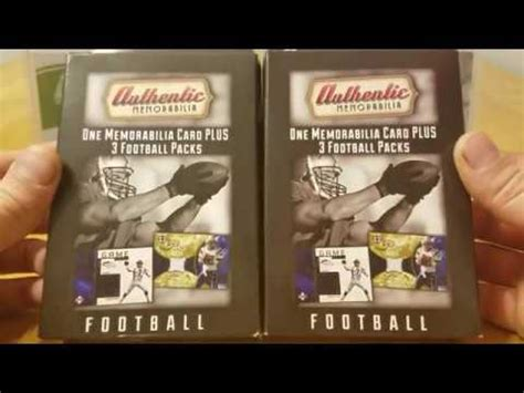Gift Card Boxes Target - authentic memorabilia fairfield co repack 10 target football cards box break youtube