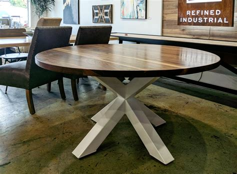 braylon pedestal table modern industrial office desk