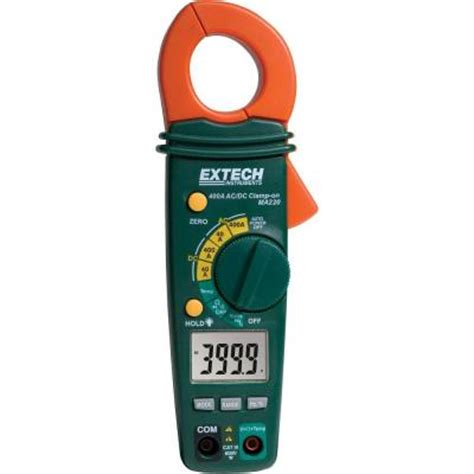 extech instruments 400 ac dc cl meter ma220 the