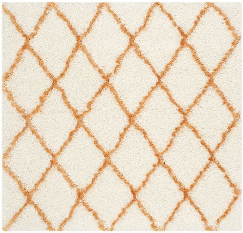 Moroccan Area Rugs Safavieh Ivory Tangerine Moroccan Shag Area Rugs Msg343f Ebay