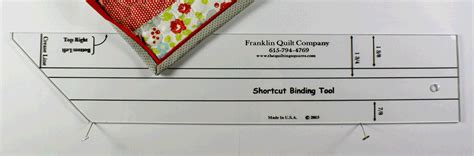 franklin quilt company shortcut binding tool