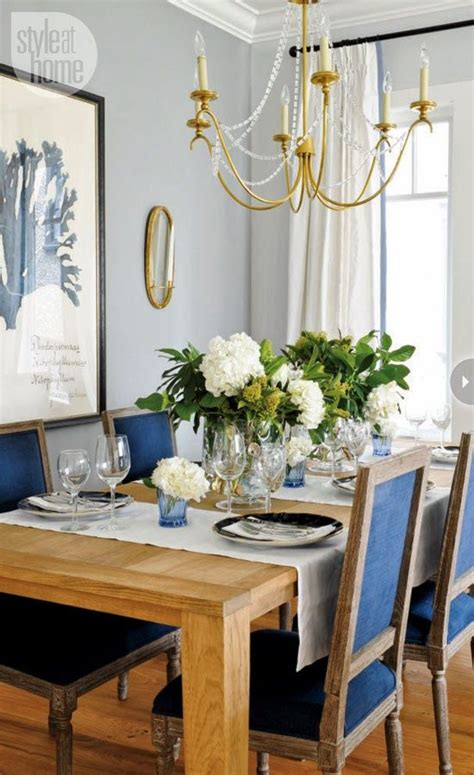 navy blue dining room navy blue chairs made in heaven dining room pinterest