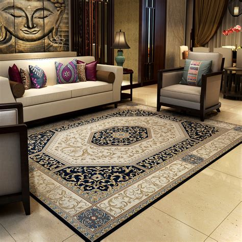 Rooms With Area Rugs 140x200cm Vintage Carpets For Living Room European Coffee Table Rugs And Carpet Bedroom