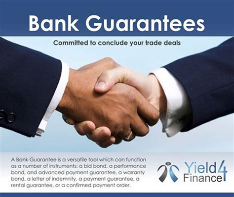 types of bank guarantee important things you must about bank guarantee
