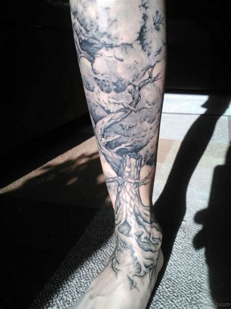 leg tree tattoo designs 93 best tree tattoos for leg