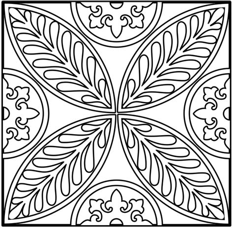free coloring pages designs coloring home