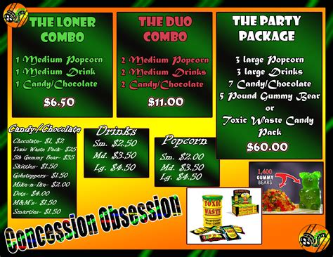 Concession Worker Clipart Clipart Suggest Concession Stand Flyer Template