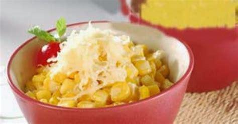 resep  membuat jagung manis susu keju lezat harian resep