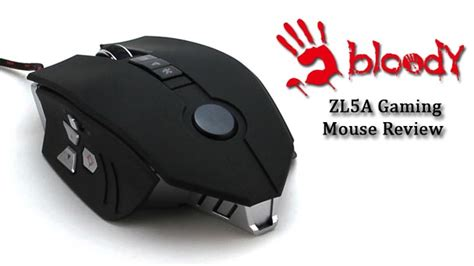 Mouse Zl5a bloody zl5a gaming mouse review tech gaming