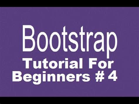 bootstrap navbar tutorial youtube bootstrap tutorial for beginners 4 creating responsive