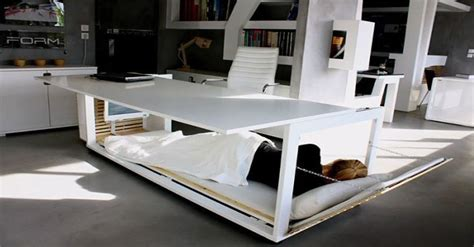 napping desk you can now sleep at work with this nap desk which