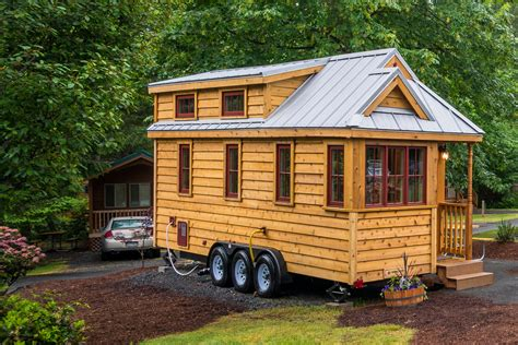 the tiny house quot lincoln quot tiny house rental at mt hood tiny house village in oregon