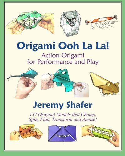 Origami Ooh La La - biography of author shafer booking appearances