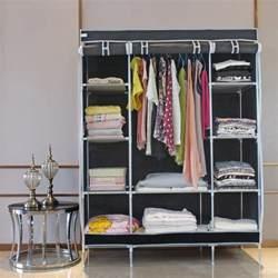 armoire garde robe placard penderie pliant en tissu meuble