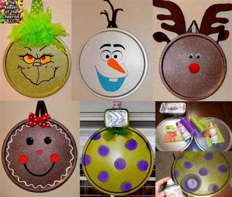 christmas decorations to make at home for free 40 homemade christmas ornaments kitchen fun with my 3 sons