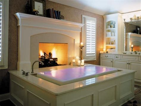 bathroom with fireplace 15 luxury bathrooms with fireplaces