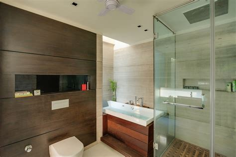Modern Bathroom India by World Of Architecture Asian Home With