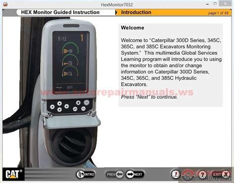Monitor Excavator Cat cat 300d 345c 365c 385c excavator monitor