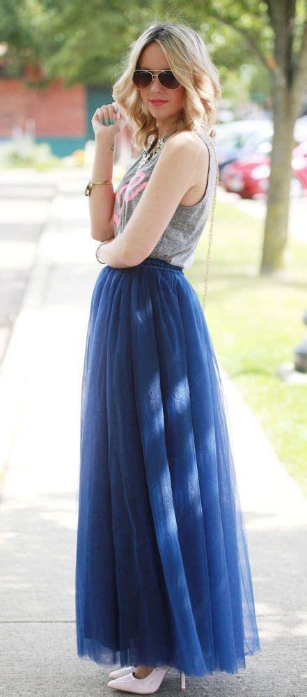 Tulle Skirt Rok Tulle Warna sesekali boleh lho pakai rok panjang buat ke kus agar