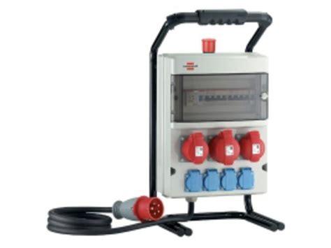 armoire electrique de chantier coffret de chantier t 233 tra 230 v 415v brennenstuhl 1154951
