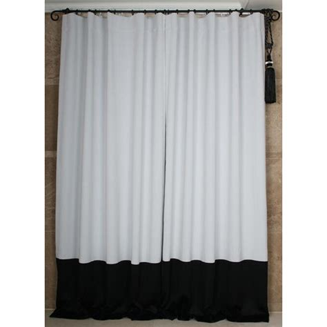 black and white bedroom curtains custom black and white solid bedroom curtains