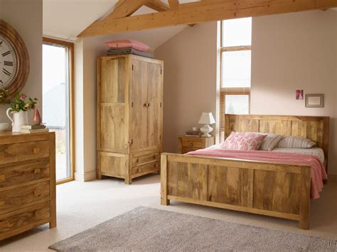 Mango Bedroom Furniture Mantis Light Solid Mango Bedroom Contemporary Bedroom By Oak Furniture Land
