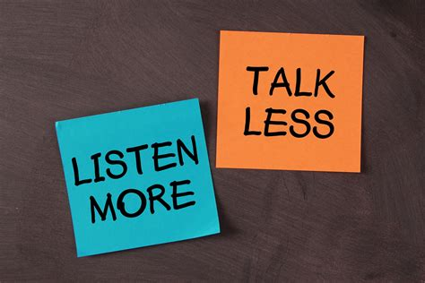 talk less listen more selling energy