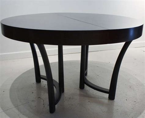 Expandable Round Dining Table Of Black ? Interior Home