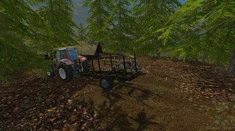 Wooden Ls by Small Wooden Trailer Quot Camon Quot V 1 5 Ls15 Farming